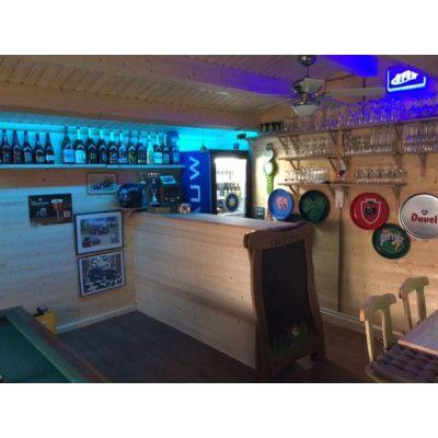 Bild 9 von Azalp Blockhaus Tim 596x400 cm, 45 mm
