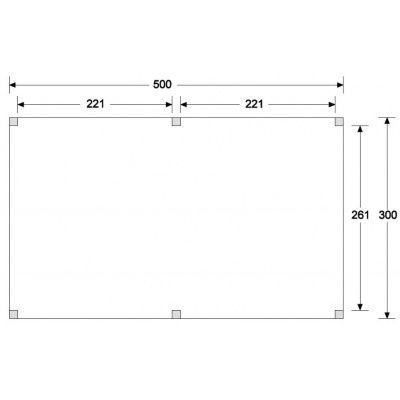 Afbeelding 6 van WoodAcademy Graniet excellent Douglas blokhut 500x300 cm