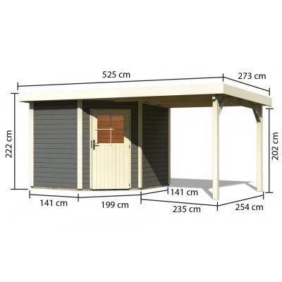 Afbeelding 2 van Woodfeeling Neuruppin 2 met veranda (91454)