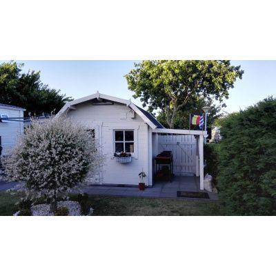 Bild 58 von Azalp Blockhaus Kent 250x250 cm, 30 mm