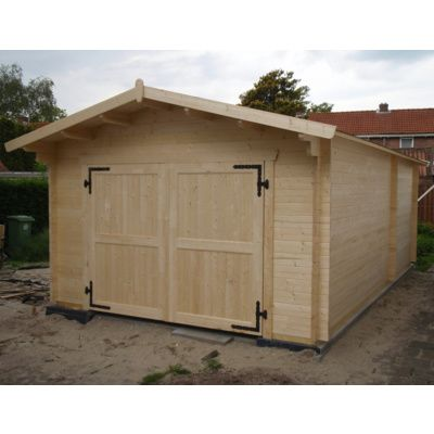 Afbeelding 20 van Azalp Garage Thijs 470x570 cm, 60 mm