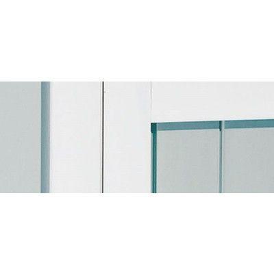 Afbeelding 12 van Azalp Tuinhuis Kunststof Frigo V11, wit-blauw