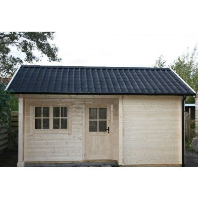 Bild 18 von Azalp Blockhaus Kirkwall 450x400 cm, 45 mm