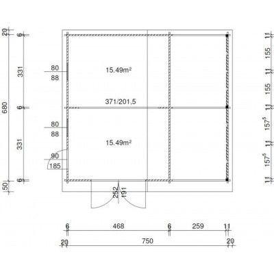 Bild 36 von Azalp Garage Vigo 770x700 cm, 60 mm