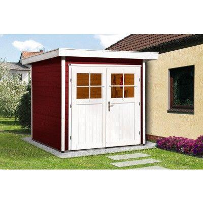 Hauptbild von Weka Gartenhaus 227 Gr. 1 Schwedisch rot