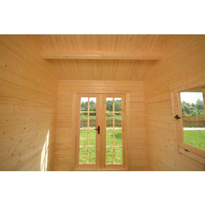 Bild 9 von Azalp Blockhaus Marnix 500x250 cm, 30 mm