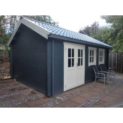 Bild 2 von Azalp Blockhaus Lynn 450x400 cm, 45 mm