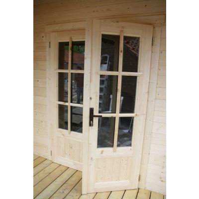 Afbeelding 22 van Azalp CLASSIC blokhut Cottage Style Cumberland 520x430 cm, 45 mm