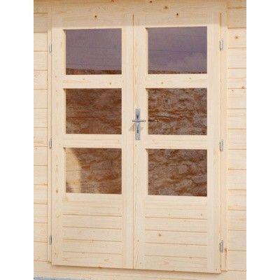 Afbeelding 4 van Woodfeeling Kandern 3 met veranda 240 cm (82994)