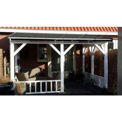 Afbeelding 30 van Azalp Houten veranda 700x350 cm