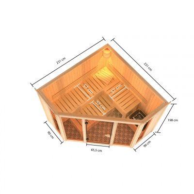 Afbeelding 5 van Karibu Alcinda 2 met Dakrand (6109)
