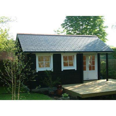Bild 3 von Azalp Blockhaus Cottage Style Cumberland 520x430 cm, 45 mm
