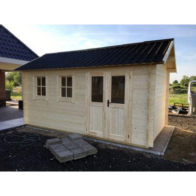 Bild 37 von Azalp Blockhaus Lynn 450x450 cm, 30 mm