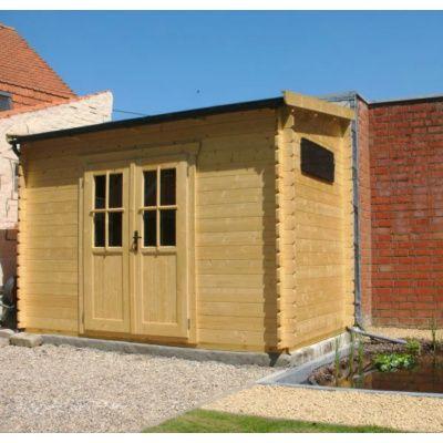 Bild 4 von Azalp Blockhaus Steven 400x400 cm, 30 mm