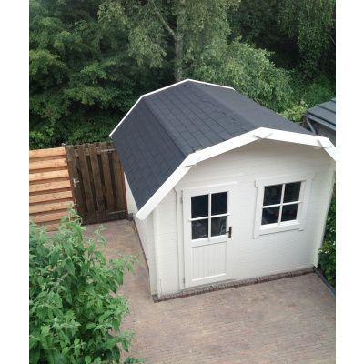 Bild 48 von Azalp Blockhaus Kent 350x400 cm, 30 mm