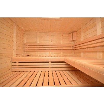 Afbeelding 33 van Azalp Sauna Luja 240x240 cm, 45 mm