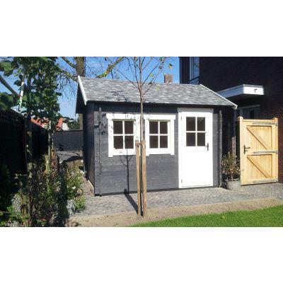 Bild 4 von Azalp Blockhaus Lynn 450x400 cm, 45 mm