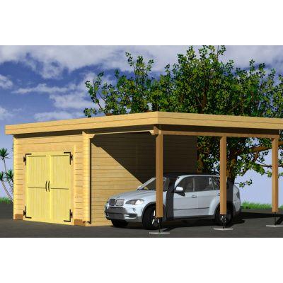 Afbeelding 3 van Azalp Garage Lagra 740x570 cm, 60 mm
