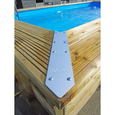Afbeelding 12 van Ubbink Linéa 650 x 350 x 140 cm compleet met blauwe liner en uitrusting
