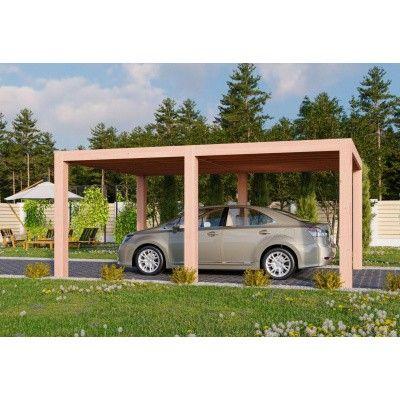 Hoofdafbeelding van WoodAcademy Topaas Excellent Douglas Carport 500x400 cm