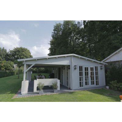 Bild 42 von Azalp Blockhaus Ben 700x650 cm, 45 mm