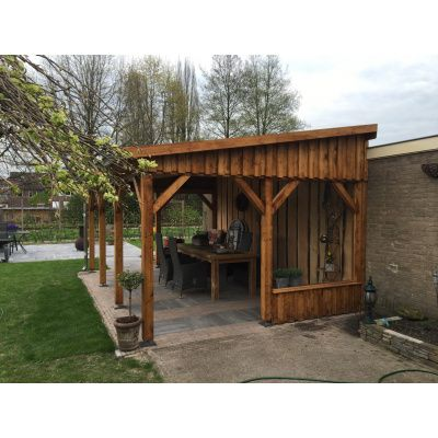 Bild 5 von Azalp Terrassenüberdachung Holz 550x350 cm
