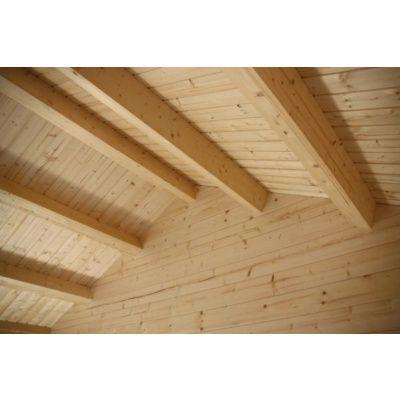 Bild 14 von Azalp Blockhaus Kirkwall 500x550 cm, 45 mm