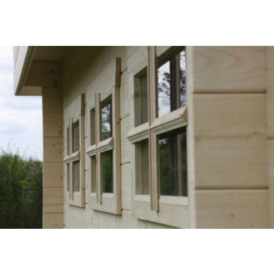 Bild 73 von Azalp Blockhaus Ingmar 300x300 cm, 30 mm