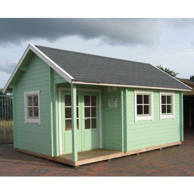 Bild 5 von Azalp Blockhaus Cottage Style Cumberland 520x430 cm, 45 mm