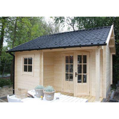 Afbeelding 21 van Azalp CLASSIC blokhut Cottage Style Cumberland 520x430 cm, 45 mm