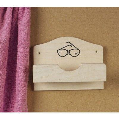 Hauptbild von Hot Orange Brillenhalter für 1