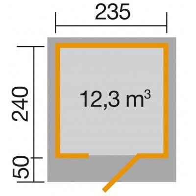 Afbeelding 2 van Weka Designhuis 172 Gr.1, 235x240 cm