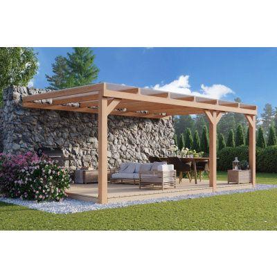 Hauptbild von WoodAcademy Bedford Douglasie Gartenlaube 600x350 cm