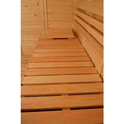 Afbeelding 10 van Azalp Sauna Luja 180x180 cm, 45 mm