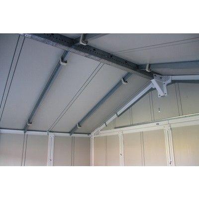 Bild 16 von Azalp Gerätehaus Frigo V7,5, grau-grün