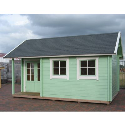 Bild 6 von Azalp Blockhaus Cottage Style Cumberland 520x430 cm, 60 mm