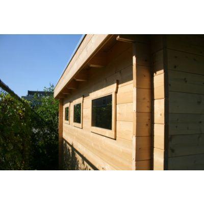 Bild 83 von Azalp Blockhaus Ingmar 596x596 cm, 45 mm