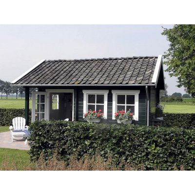 Afbeelding 54 van Azalp CLASSIC blokhut Cottage Style Kinross, 45 mm