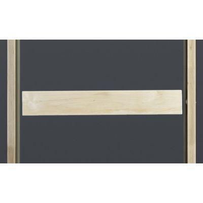 Afbeelding 3 van Ilogreen Saunadeur Classic (Elzen) 69x209 cm, helderglas