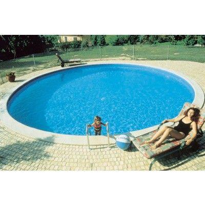 Afbeelding 4 van Trend Pool Boordstenen Ibiza 320 wit (complete set rond)