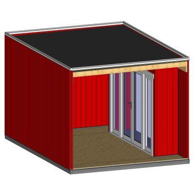 Afbeelding 5 van SmartShed Blokhut Nicho 423x302 cm
