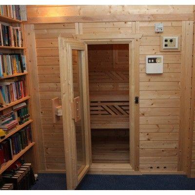 Afbeelding 41 van Azalp Massieve sauna Genio 166x166 cm, 45 mm
