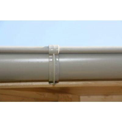 Bild 9 von Azalp Dachrinnenset DELUXE 800 cm (dunkelbraun, grau oder weiss)