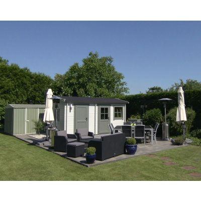 Bild 2 von Azalp Blockhaus Karlijn 450x550 cm, 45 mm