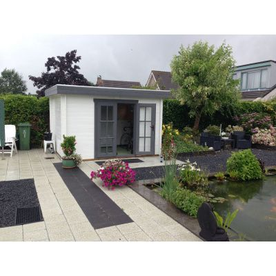 Bild 89 von Azalp Blockhaus Ingmar 400x500 cm, 45 mm