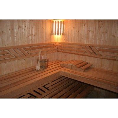 Afbeelding 4 van Azalp Sauna Ona 220x220 cm vuren