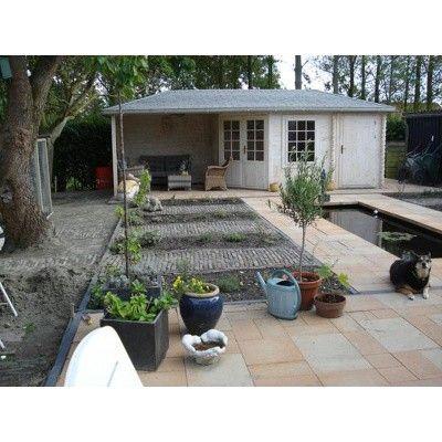 Bild 28 von Interflex Blockhaus 4355 Z, Seitendach 450 cm