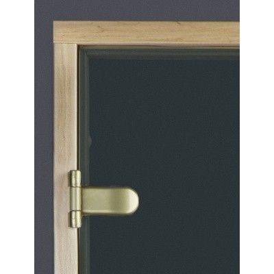Afbeelding 6 van Ilogreen Saunadeur Exclusive (Elzen) 209x69 cm, groenglas