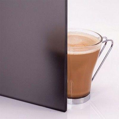 Bild 3 von Hot Orange Saunatür Black 70x200 cm, matt grau 8 mm Espe