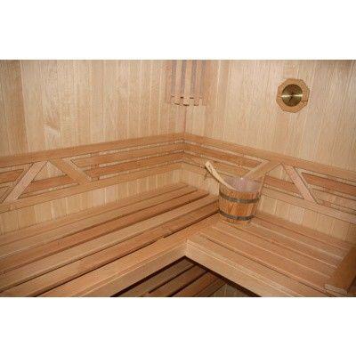 Bild 10 von Azalp Sauna Runda 203x237 cm, Espenholz